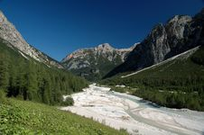 Free Dolomiti Mountains Royalty Free Stock Photos - 1636098