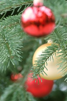 Free Christmas Balls Royalty Free Stock Photo - 1636935
