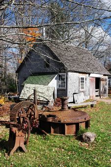 Free Blacksmith Cottage Stock Image - 1637361