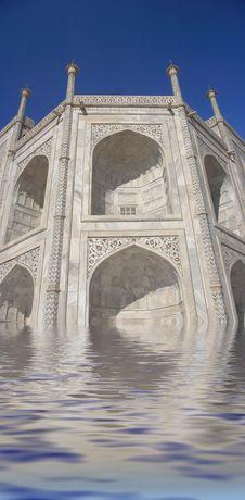 Free Taj Mahal Stock Image - 1637751
