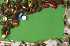 Free Chocolate Frame Royalty Free Stock Image - 1638826