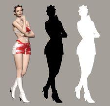Free Sexy Lady Royalty Free Stock Photos - 1638888