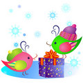 Free Gift And Birds Stock Photos - 16300233