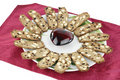 Free Almond Cookies Dessert Plate Royalty Free Stock Photos - 16300358