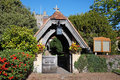 Free Lychgate To An English Village Church Royalty Free Stock Photos - 16302148