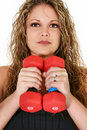 Free Workout Woman Stock Image - 16309681