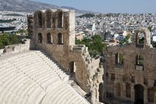 Free Herodes Atticus Odeon, Athens, Greece Royalty Free Stock Images - 16300839
