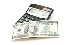 Free Calculator And Dollars Stock Photos - 16301633