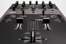 Free Professional Mixing Controller For Dj Stock Photography - 16301702