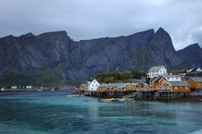 Free Village In Lofoten Stock Image - 16301781