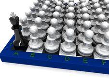 Free Pawns Attack Stock Photo - 16302810