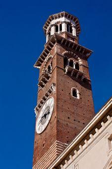 Free Lamberti Tower In Verona Stock Photos - 16302843