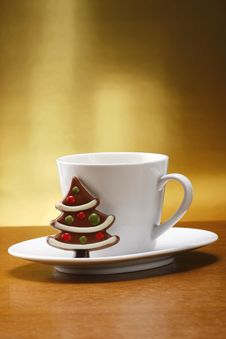 Milk And Cookies For Santa Royalty Free Stock Images