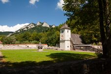 Free Red Cloister (slovak: Cerveny Klastor) Royalty Free Stock Images - 16303719