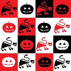 Free Halloween Pattern Stock Photography - 16303782