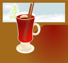 Free Mulled Wine2 Royalty Free Stock Photo - 16303835