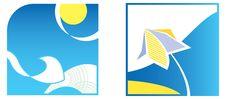 Free Color Symbols - Summer Royalty Free Stock Image - 16303946