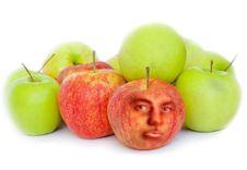 Free Apples On White Background Stock Image - 16304221