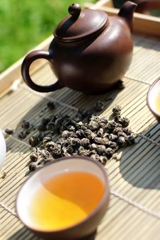 Free Green Tea Stock Images - 16304744