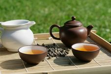 Free Green Tea Royalty Free Stock Photography - 16304777