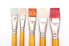 Free Paint Brushes Stock Photo - 16305440