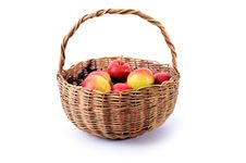 Free Basket Of Apples Stock Images - 16305454