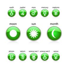 Free All Zodiac Green Royalty Free Stock Images - 16305559