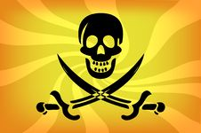 Free Pirate Flag Stock Photo - 16306010