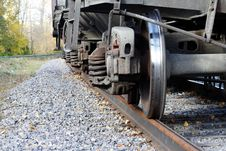 Free Railway  Wheel  Metal Royalty Free Stock Image - 16306226