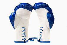 Free Isolated Pair Of Boxing Gloves Royalty Free Stock Images - 16306229