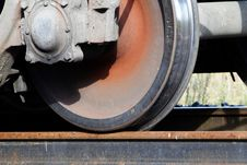 Free Railway  Wheel  Metal Royalty Free Stock Photography - 16306237