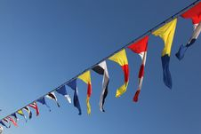 Free Flags 2 Royalty Free Stock Photo - 16307015