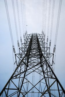 Free Electric High Voltage Post Royalty Free Stock Photography - 16307027