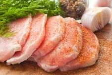 Free Chunks Of Meat Royalty Free Stock Photo - 16308445