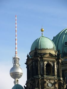 Free Berlin Dome And Television Tower Stock Photos - 16308813