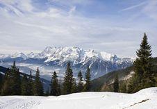 Free Mountains Under Snow In The Winter.  Austria Royalty Free Stock Photos - 16308818
