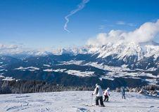 Free Ski Resort Schladming . Austria Stock Images - 16309204