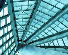 Skylight Ceiling Stock Photo