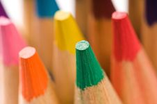 Free Collection Of Colorful Pencils Stock Photography - 16309562