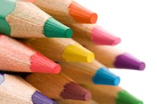 Free Collection Of Colorful Pencils Royalty Free Stock Photography - 16309577