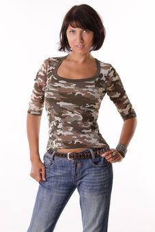 Free Beautiful Woman Stock Photo - 16309840