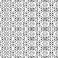 Free Folk Hearts And Flower Seamless Pattern Stock Images - 16310484