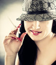 Free Woman Wearing Hat Stock Photography - 16314092
