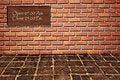 Free Open-Close Logo On Brickwall Royalty Free Stock Photos - 16316968