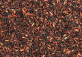 Free Brown And Black Rice Background Stock Photography - 16317132