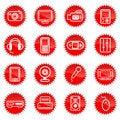Free Media Icons Stock Image - 16318591
