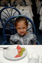 Free Child At Restaurant Table Royalty Free Stock Photography - 16319687