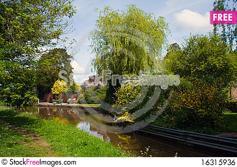 Free Canal Royalty Free Stock Image - 16315936