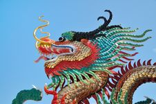 Head Of Dragon Royalty Free Stock Image