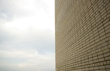 Free Brick Wall Against The Sky Stock Photo - 16311170